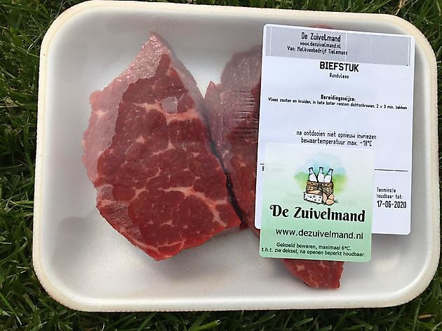 Biefstuk - De Zuivelmand Blijham