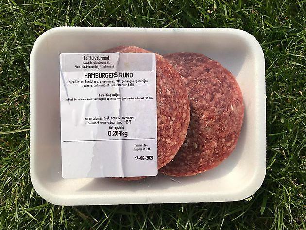Hamburger 2 stuks - De Zuivelmand Blijham