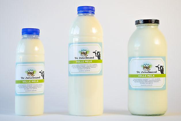 Volle melk - De Zuivelmand Blijham