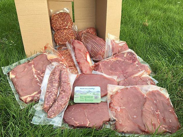 Jong rundvlees pakket 5kg - De Zuivelmand Blijham